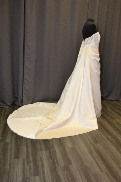 Kleiderkorb.de :: Brautkleid Hochzeitskleid cremeweiß natur Corsage ...