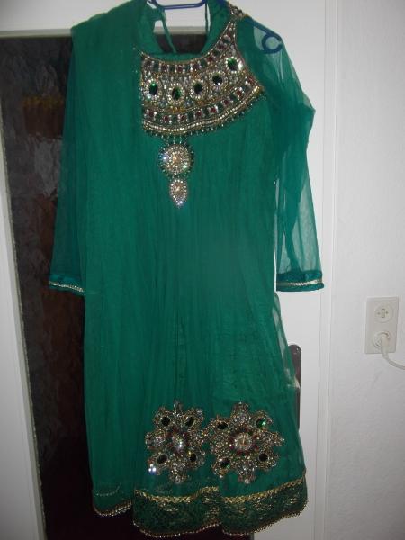 Bollywood Anarkali Salwar Kameez Party Bollywood Karneval Kostüm Set ...
