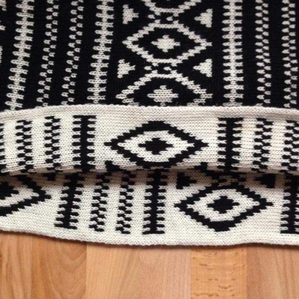 h m schal loop rundschal azteken ethno muster. Black Bedroom Furniture Sets. Home Design Ideas