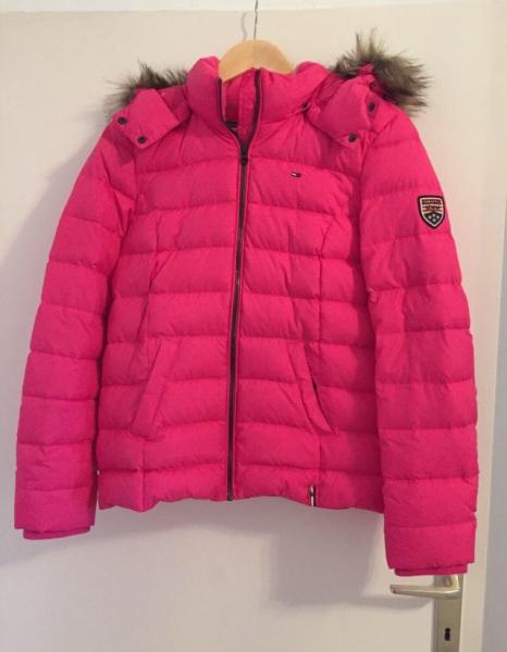 Winterjacke damen pink