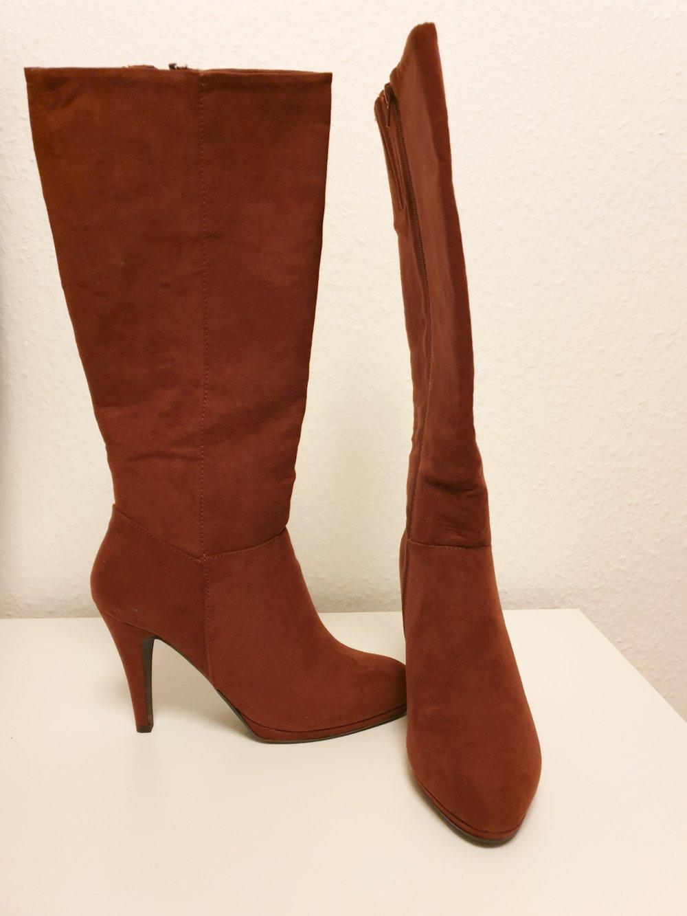authentische Qualität heißer verkauf authentisch beste Seite Stiefel I Anna Field I cognac I 39 I NEU