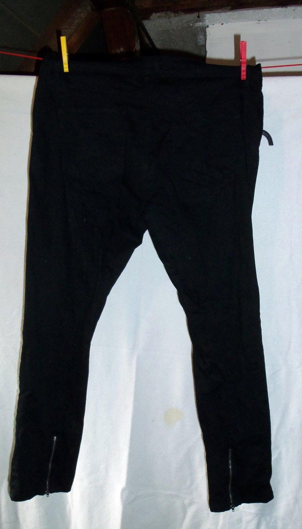8669228eb04e Janina Denim - Jeans schwarz Größe 46    Kleiderkorb.de