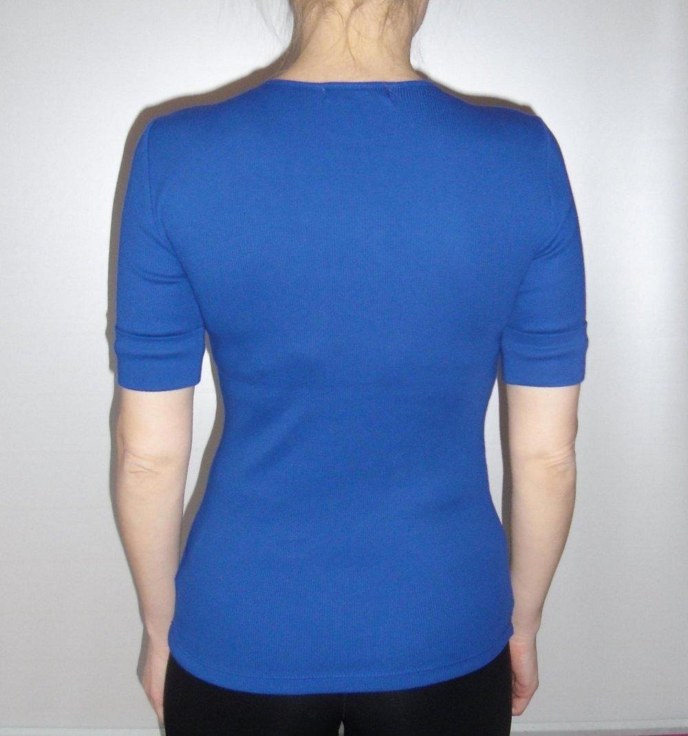 ca93b3d51c680e ... Lauren Ralph Lauren Kurzarm Shirt Top Pulli Pullover T-Shirt Blau Neu  Gr. XS .