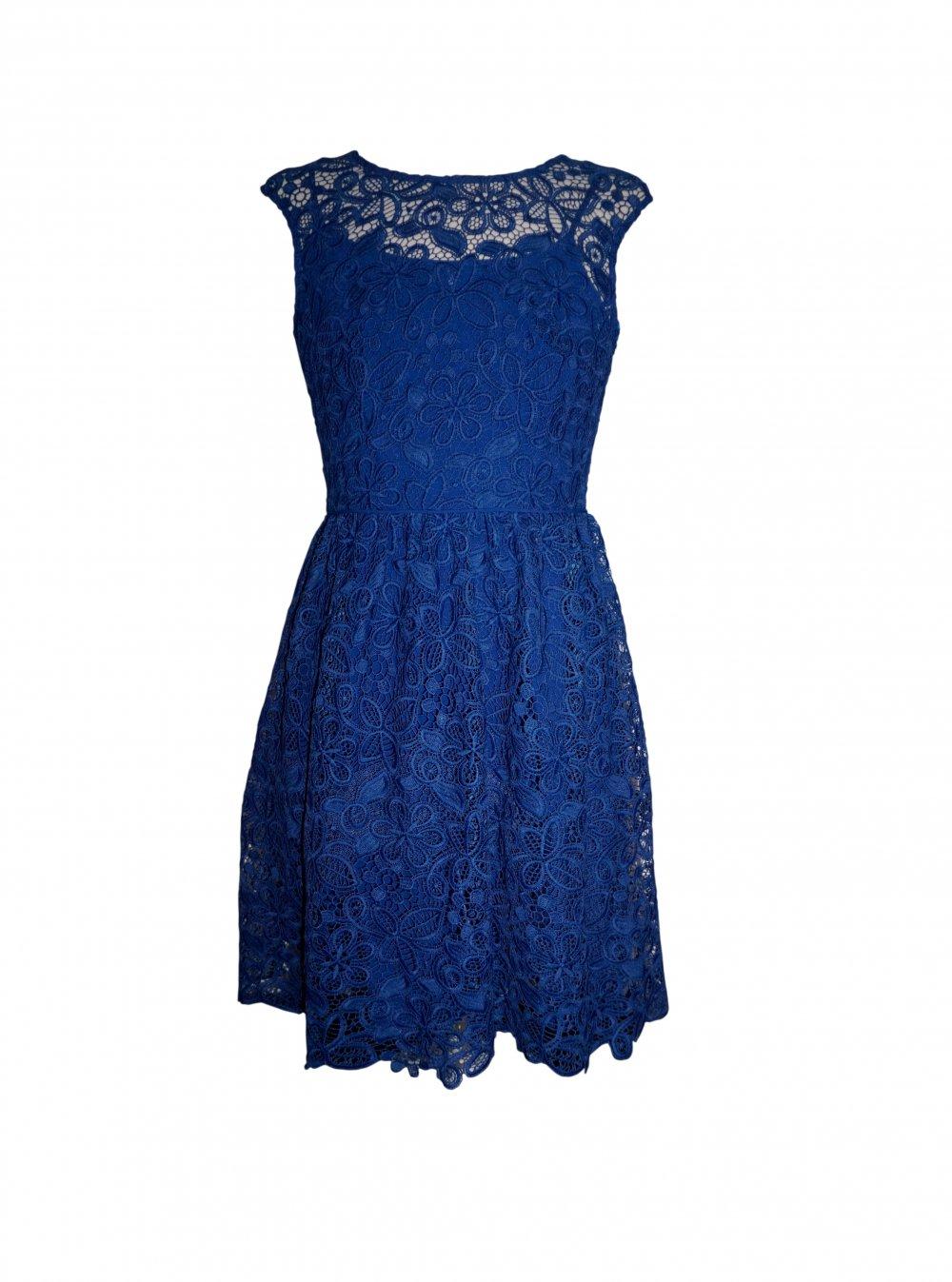 Esprit Damen Kleid Sommerkleid Spitze Gr 36 S Kleiderkorb De