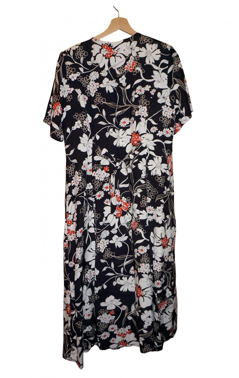 1d8fdc48305402 Greenfield Damen Kleid Sommerkleid Maxikleid Gr. XL 42 :: Kleiderkorb.de