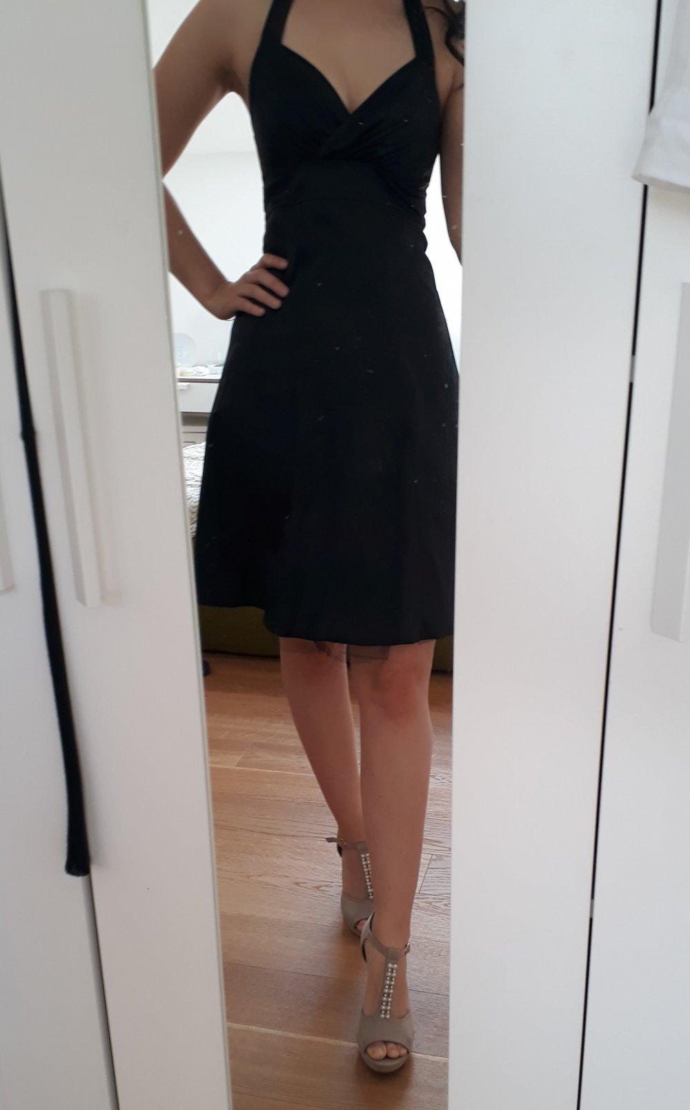 schwarzes Abendkleid/Cocktailkleid