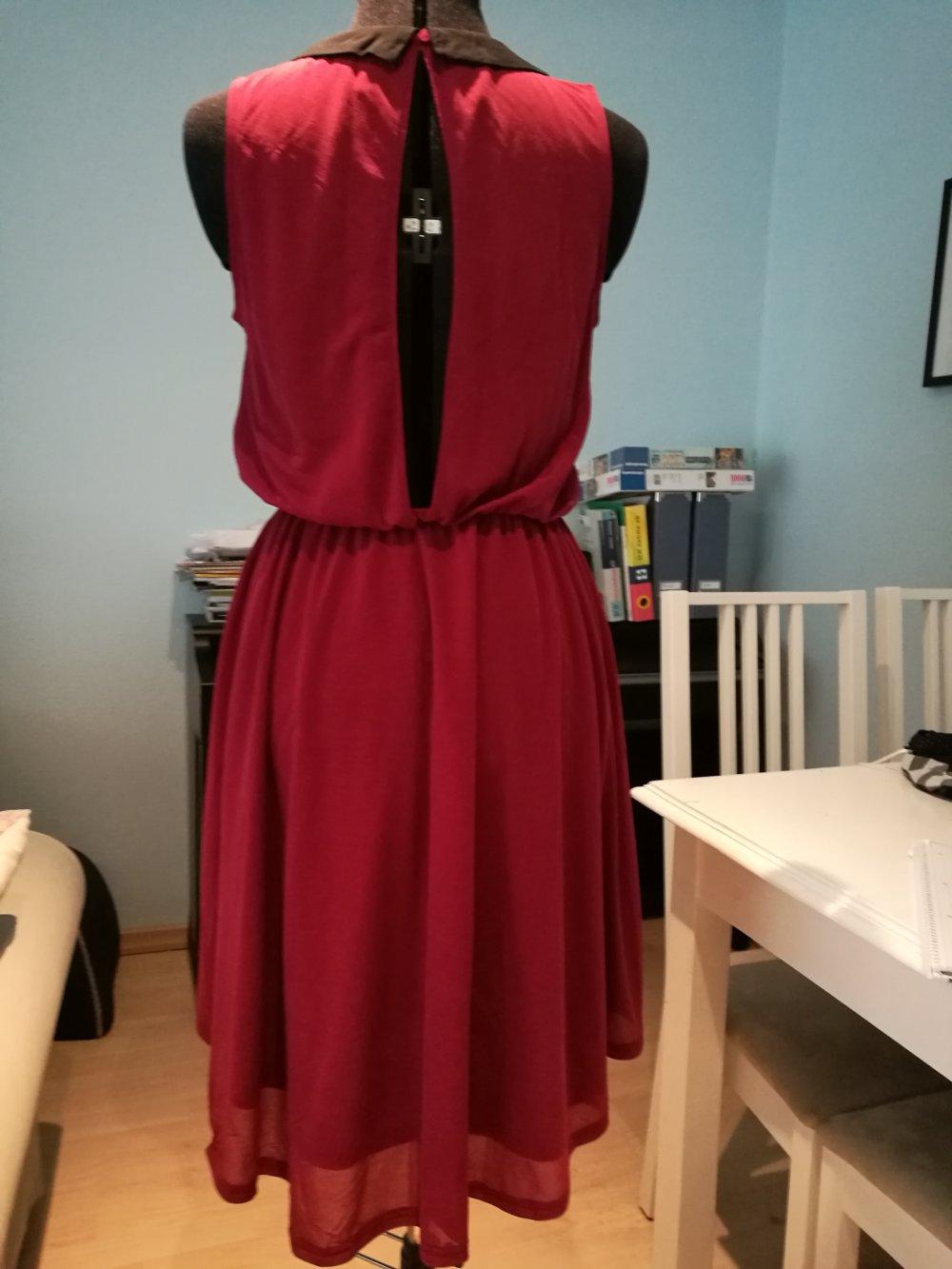 rotes Kleid; Sommerkleid; H&M :: Kleiderkorb.de