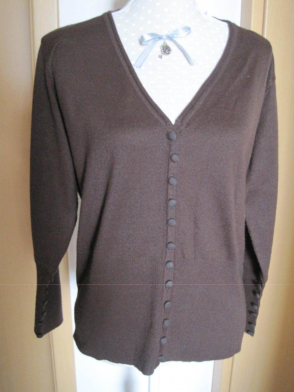 designer fashion fdc3a 9d433 Strickjacke Damen braun
