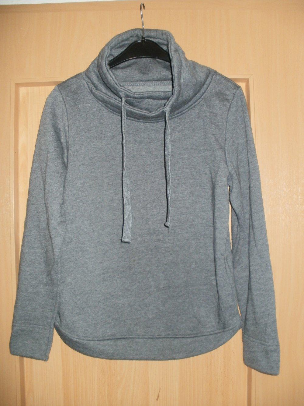 new style 9571a 9e00a grauer Pullover Größe 36/38