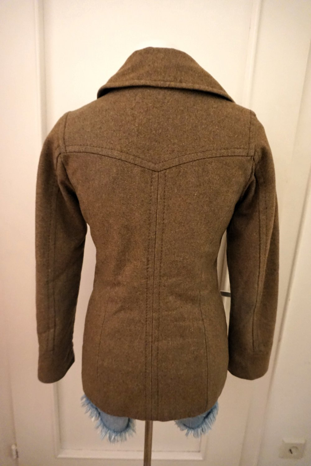 H&M Mantel Jacke braun
