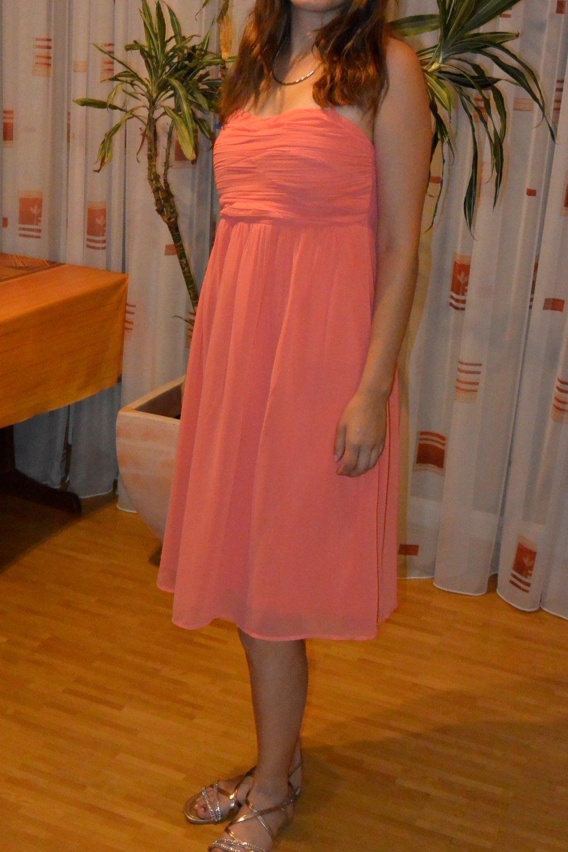 Kleid Koralle Hochzeit : festliches kleid hochzeit abiball koralle vero moda ~ Orissabook.com Haus und Dekorationen