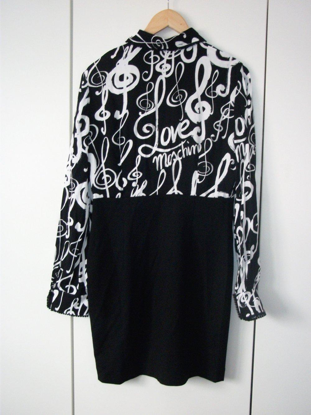 f5b18165329 Zweigeteiltes Kleid Love Moschino Music    Kleiderkorb.de