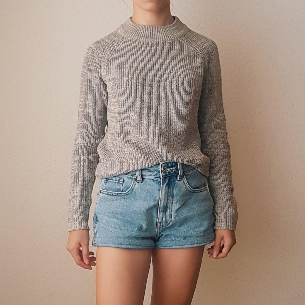 huge selection of d0a7b ac549 Weiß Hell Brauner Pullover