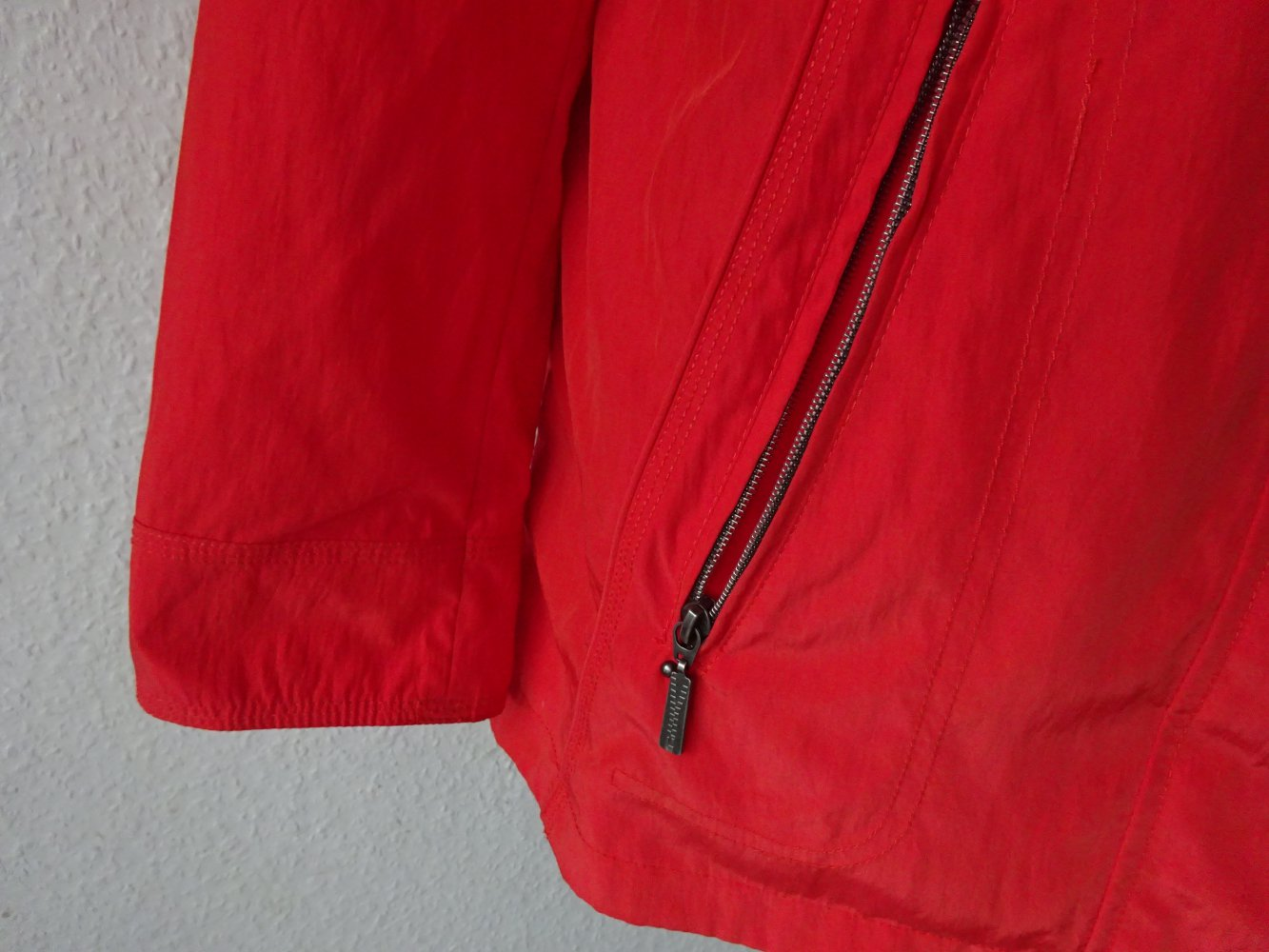 Damen Gina Jacke S Leichte Rote Taillierte Von w0O8nPk