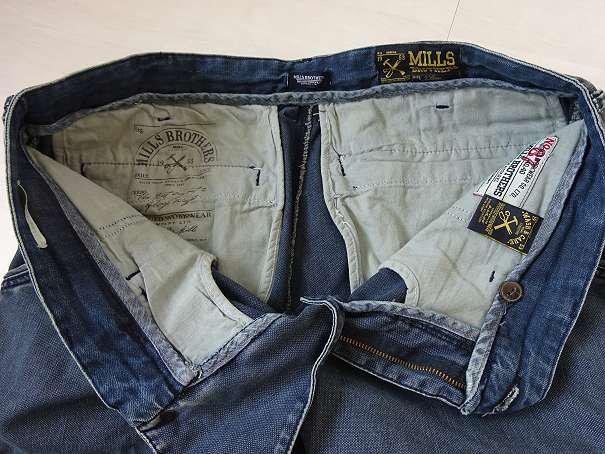 Tolle blaue MILLS BROTHERS Herren Jeans