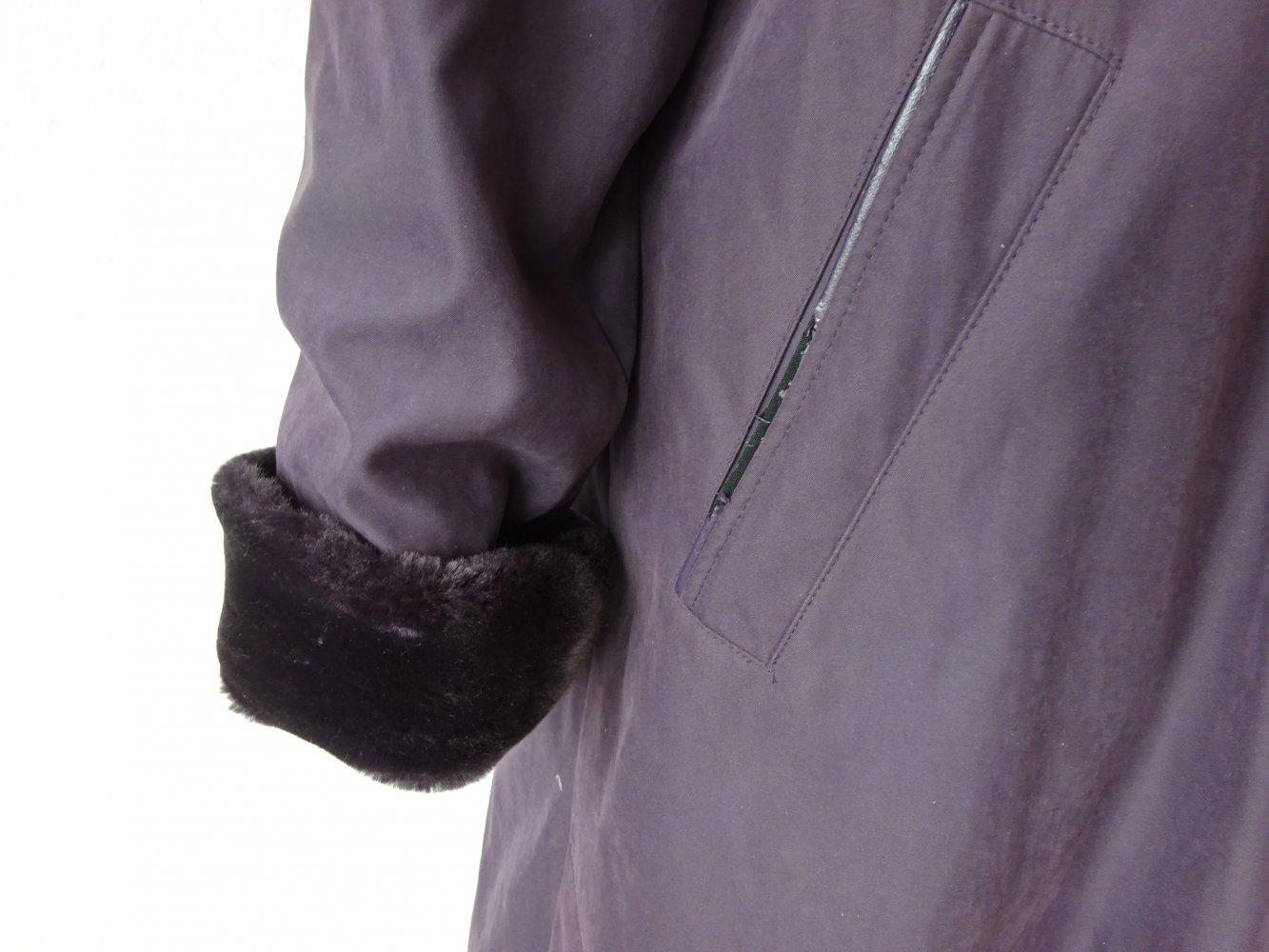 Mantel mit herausnehmbarem innenfutter