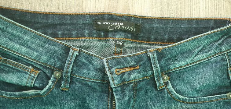 Blind date casual jeans