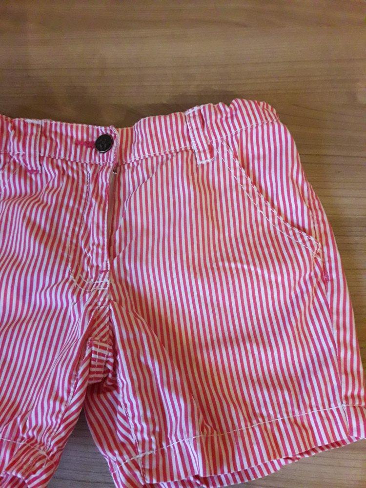 ... sehr schöne Sommershorts in Gr. 98 104 von Impidimpi mit verstellbaren  Bund in rot ... 14e0d33cb1