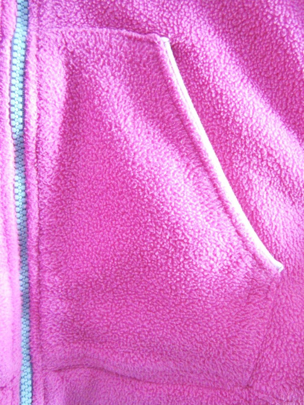 Jacke Fleecejacke F.S.A.T.H.L. pink Stickerei Gr.152