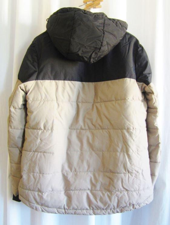 cozy fresh ed620 70f28 NEUw! Jacke Winterjacke Skijacke B.P.C. schwarz beige Kapuze  wasserabweisend Gr.38