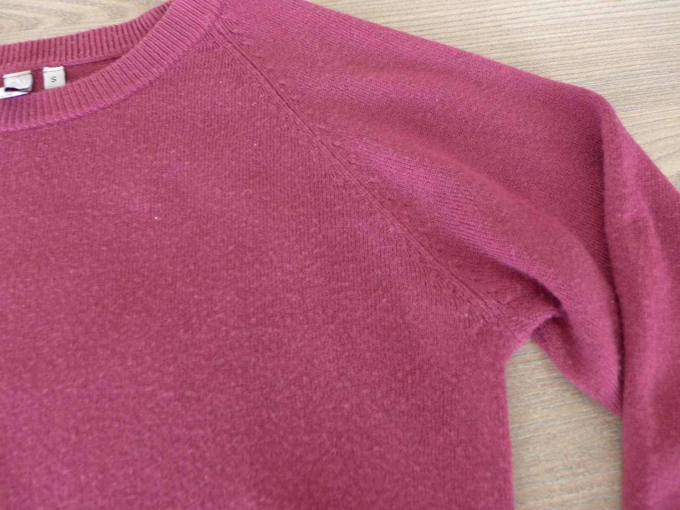 damen pullover brombeerfarben