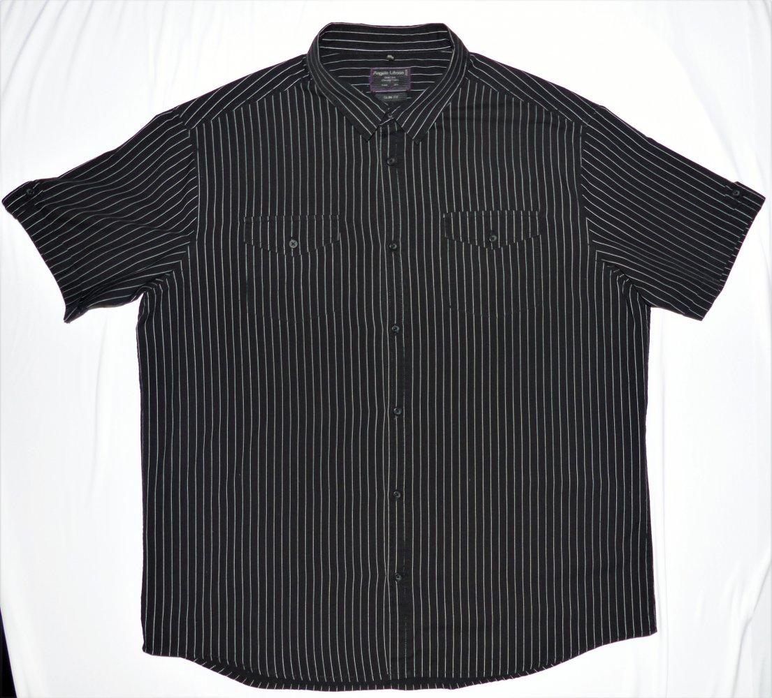 100% authentic 1e64b 169c9 Angelo Litrico C&A Herren Hemd Gr. 3XL XXXL 47 48 sehr guter Zustand  kurzarm schwarz weiß
