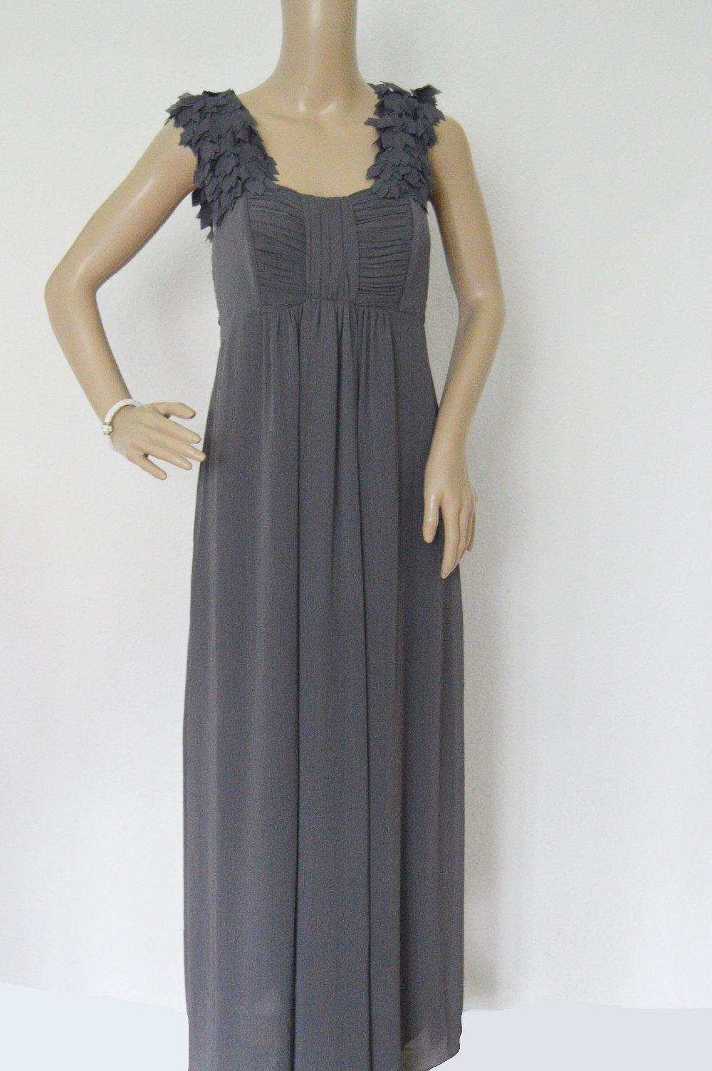 Glamrosa Abendkleid Kleid gr.11 grau lang