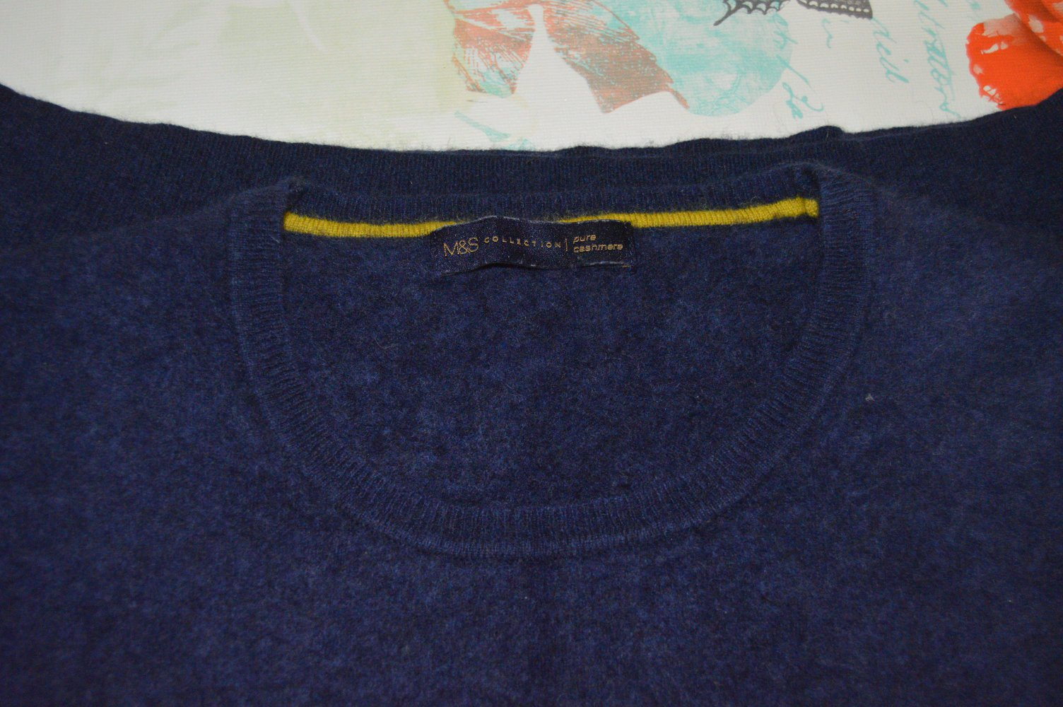 M&S Collection Kaschmir Pullover gr.ca.M