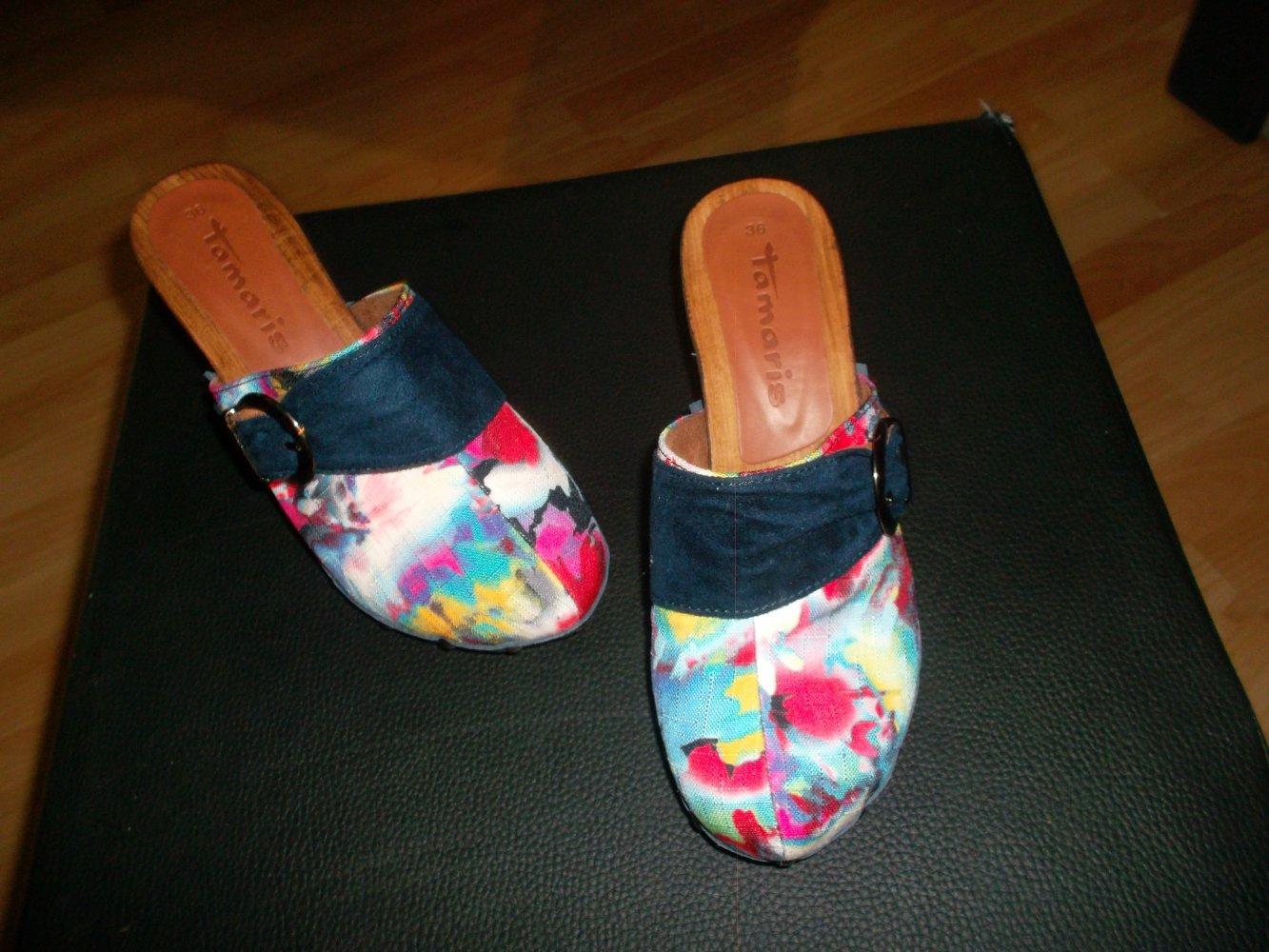 TAMARIS Damen Schuhe echt Leder Größe 36