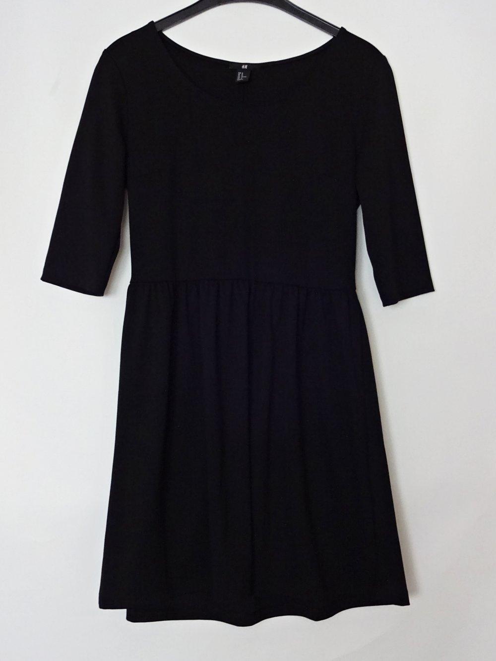 Schwarzes Basic Kleid Gr. 20 Gr. 20 Gr. M Gr. 20/20
