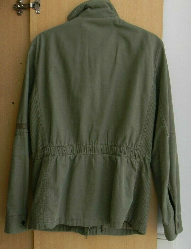 HM H&M Jacke Damen Größe 36 Übergangsjacke neu Khaki