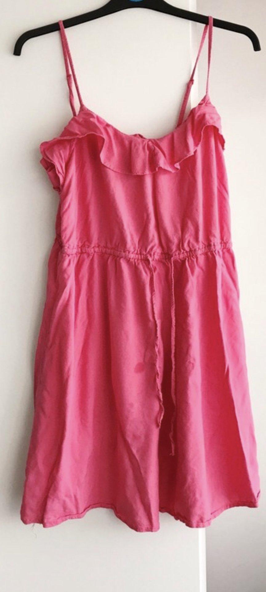 rot pinkes kleid 9305dc