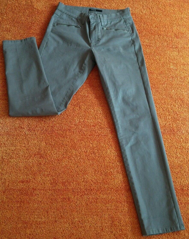 Damen Hose Kurz 34 Hosen Caprihose Stretch Bermuda Made in Italy Gummizug Gr. S M