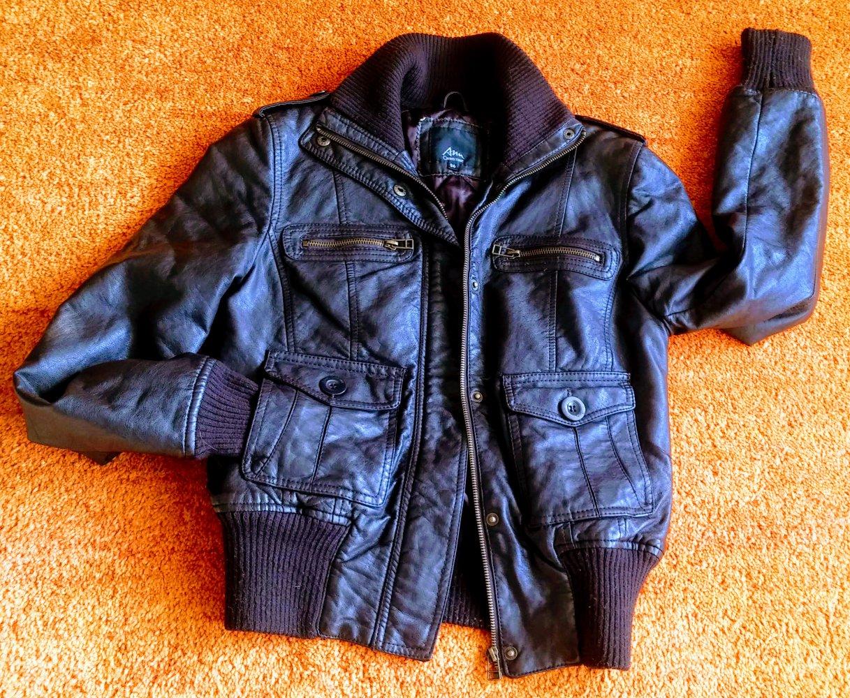 7d9804fcb5d5 ... Damen Jacke LederImitat Gr.36 in Braun von Ann Christine .