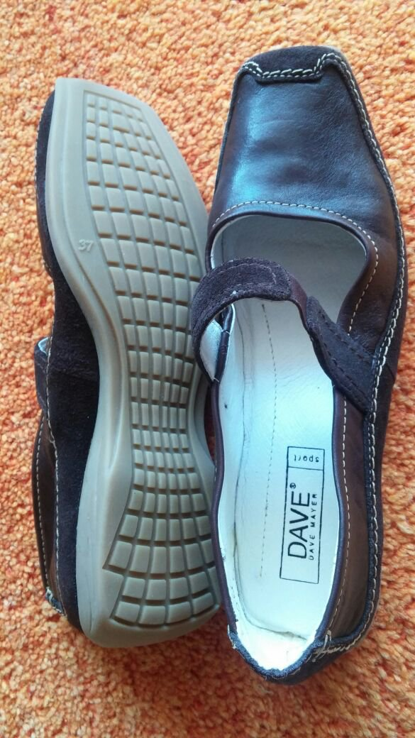 on sale 248d2 3cb35 NEU Damen Schuhe Ballerina Sport Gr.37 in Braun von DAVE MAYER