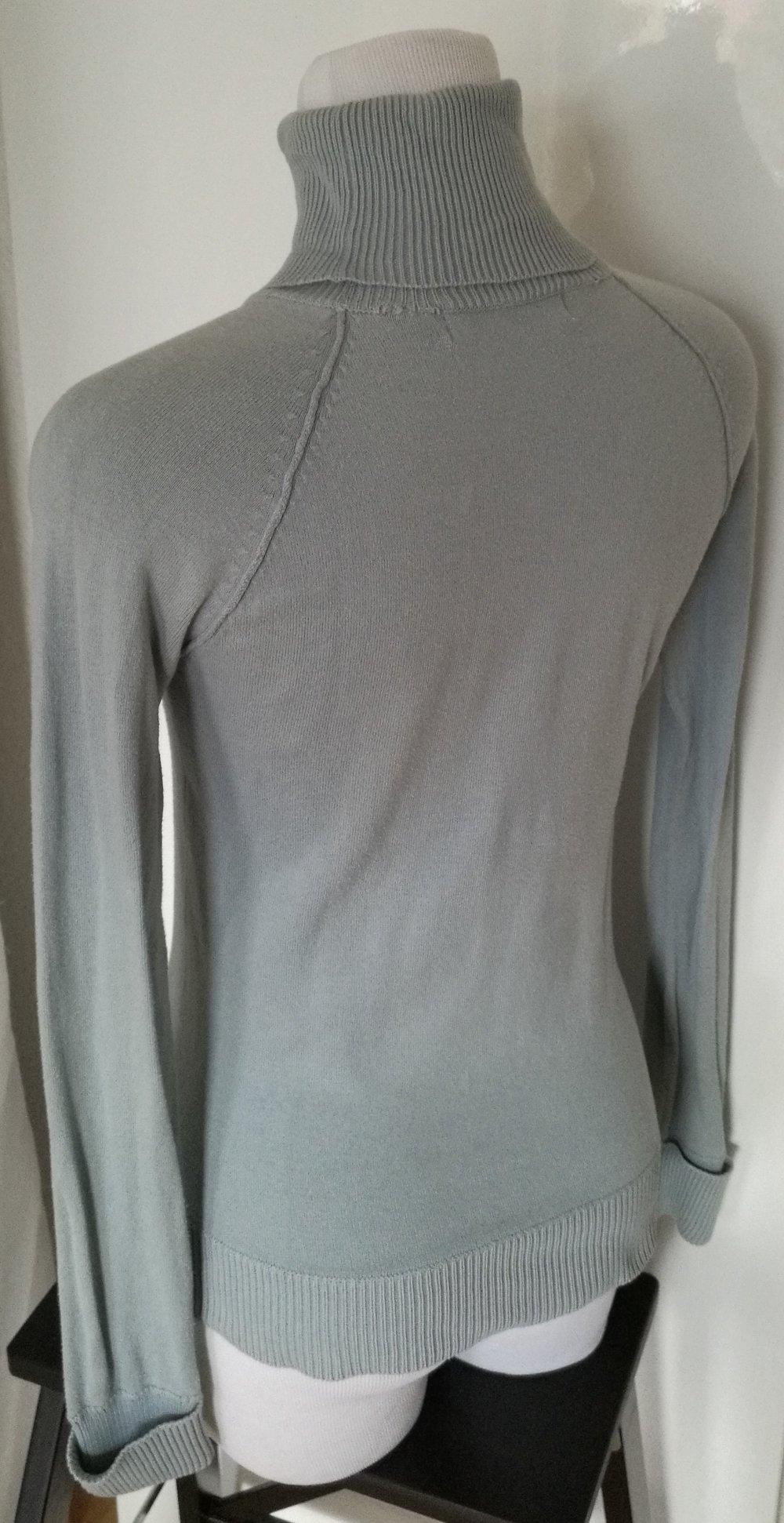 Rollkragen-Pullover von Zara, Gr. S, hellblau    Kleiderkorb.de 5e4e2fdc86