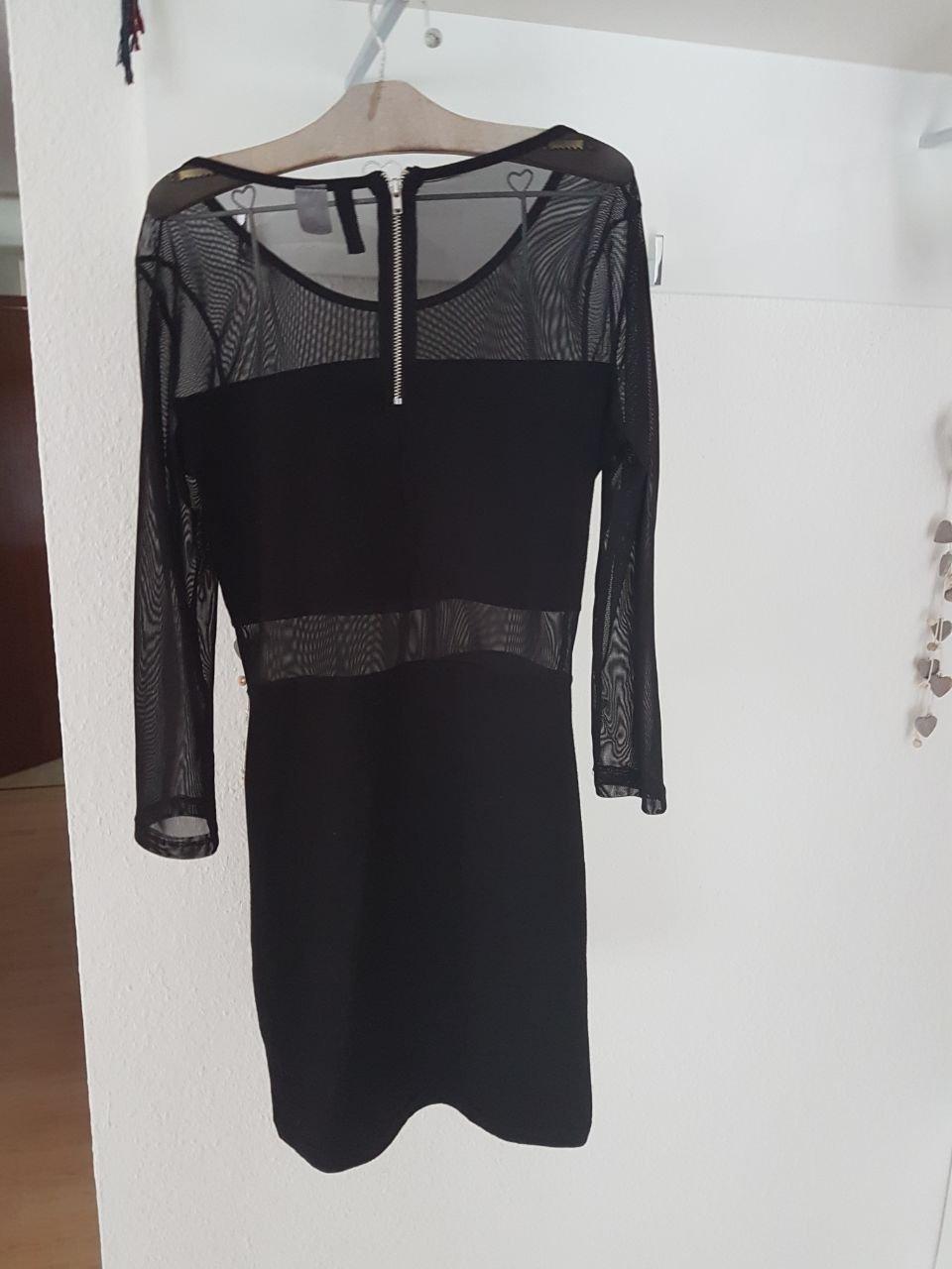 Kleid, Sommerkleid, Partykleid, H&M, Gr. XS, schwarz :: Kleiderkorb.de