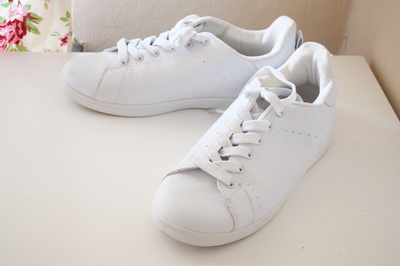 13cf9cc5006808 H M - Sneakers Turnschuhe Weiß    Kleiderkorb.de