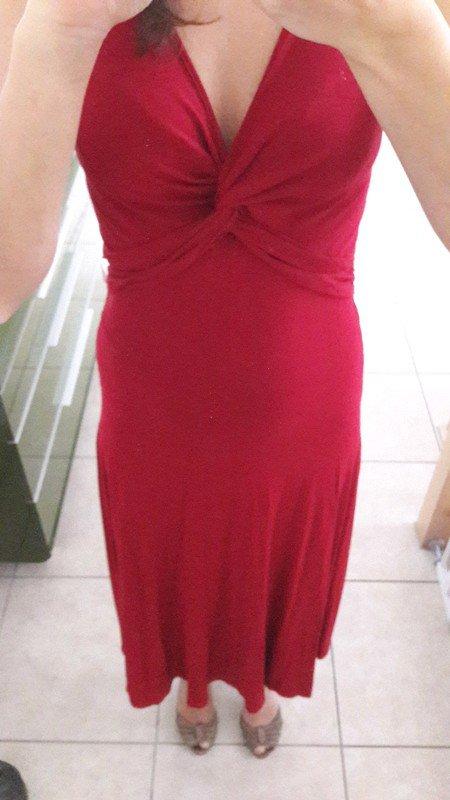 Rotes kleid xs