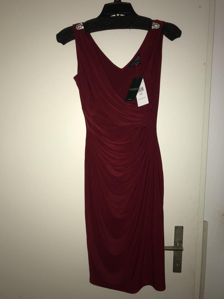Ralph Lauren Kleid Rot Kleiderkorb De