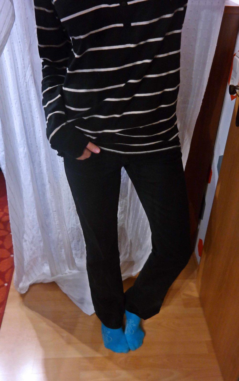 bd890095608c Only Hose Jeanshose schwarz Skinny Figurschmeichler S M 38 40 lang