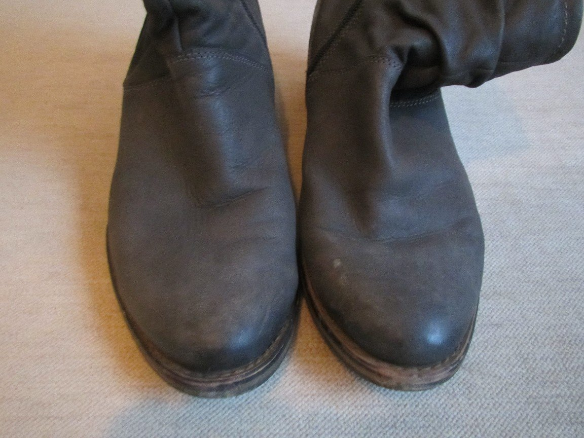Stiefel Stiefeletten Gr. 40 in grau von Tamaris mit Schnürung und Reißverschluss