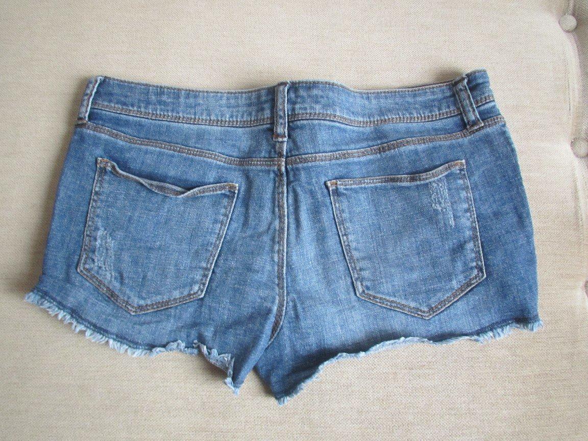 ... kurze Hose Shorts Hotpants Jeans Gr. 38 in blau von Forever 21 ... e18292a3e8