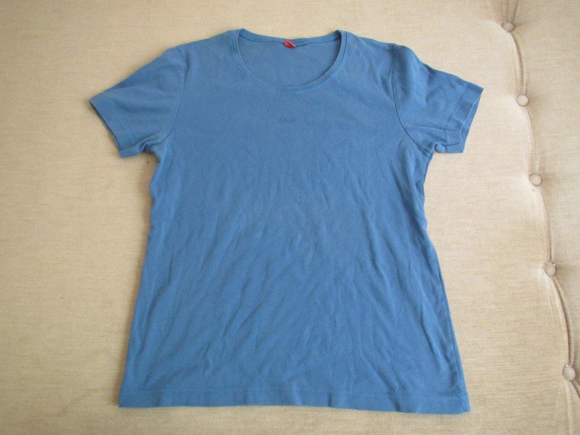 S.Oliver - Shirt T-Shirt Gr. 44 in blau von s.Oliver    Kleiderkorb.de bbb773d829