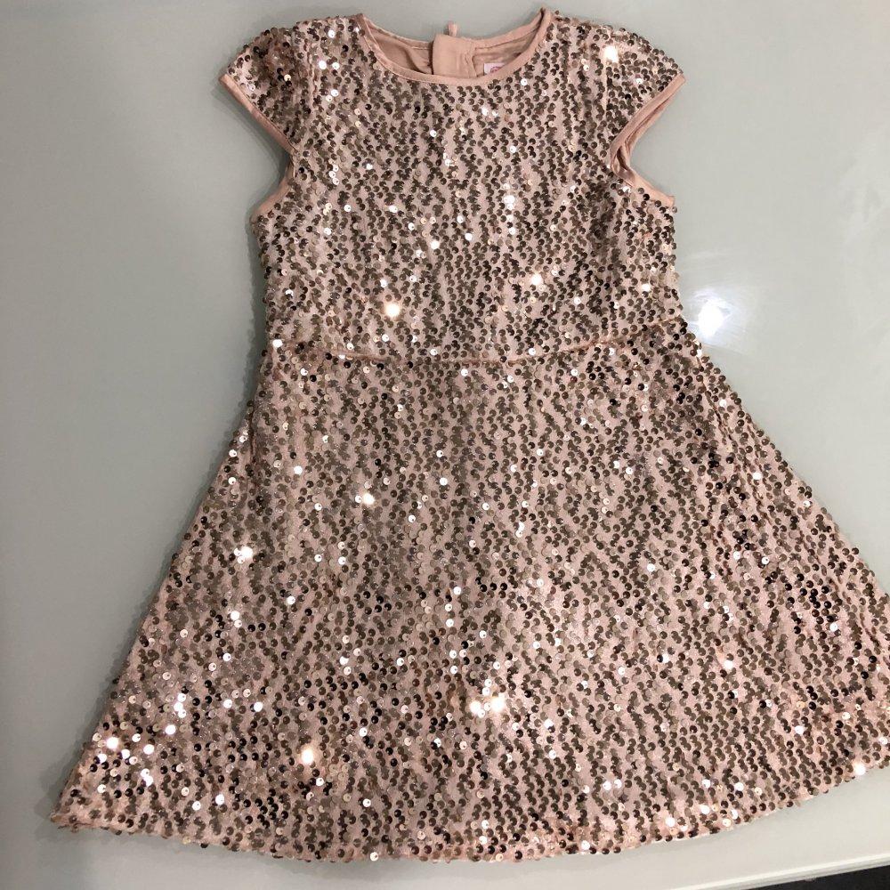 C&A   Mädchen Smart & Pretty Kleid Glanz Effekt Pailletten ...