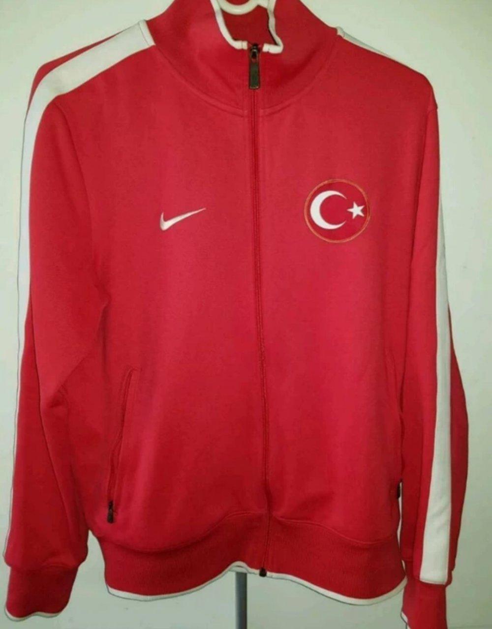 Türkei Anthem Football Jacket Jacke Rot F657