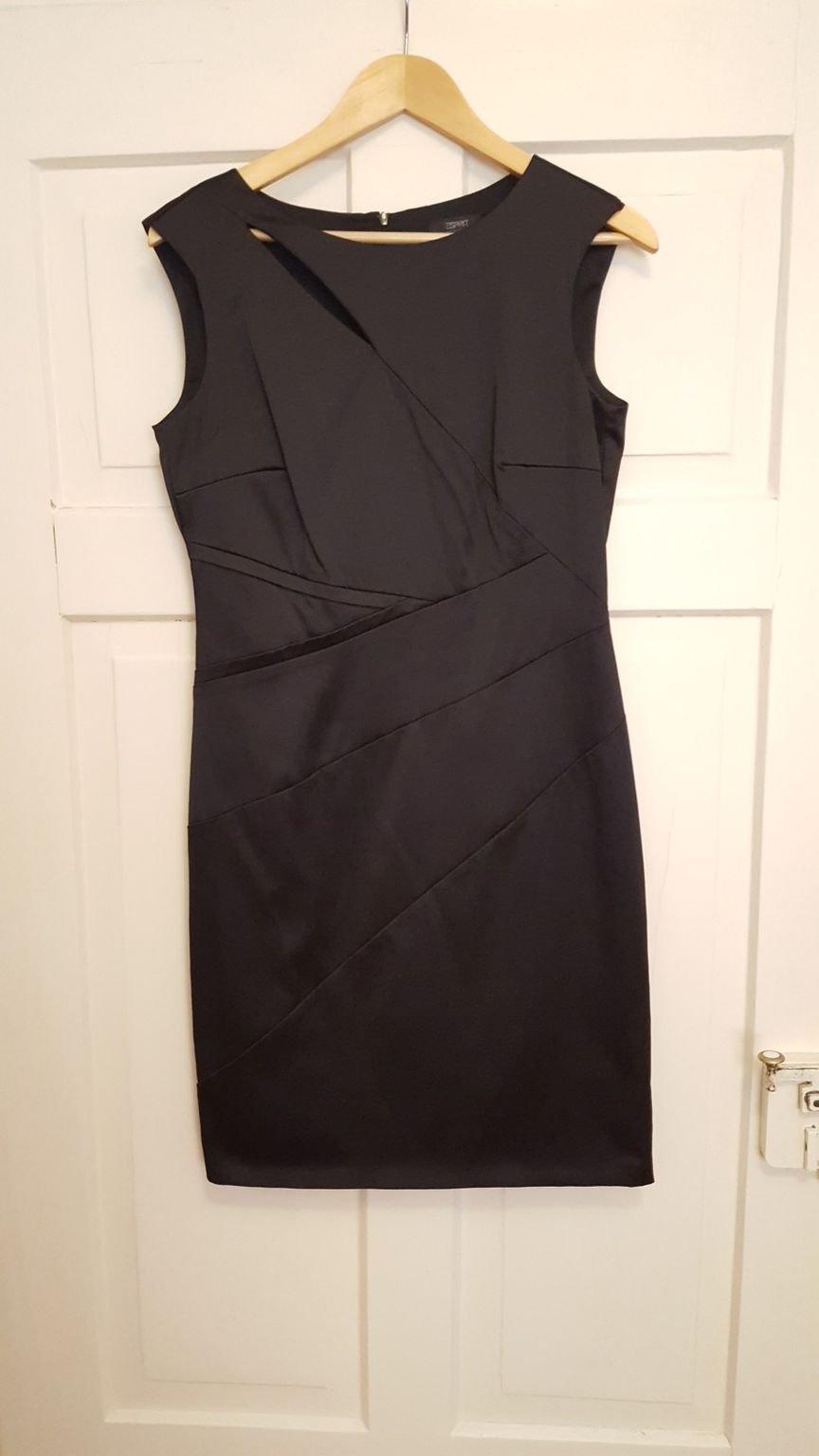 Schwarzes Kleid Esprit Gr. 38    Kleiderkorb.de fb618f4c39