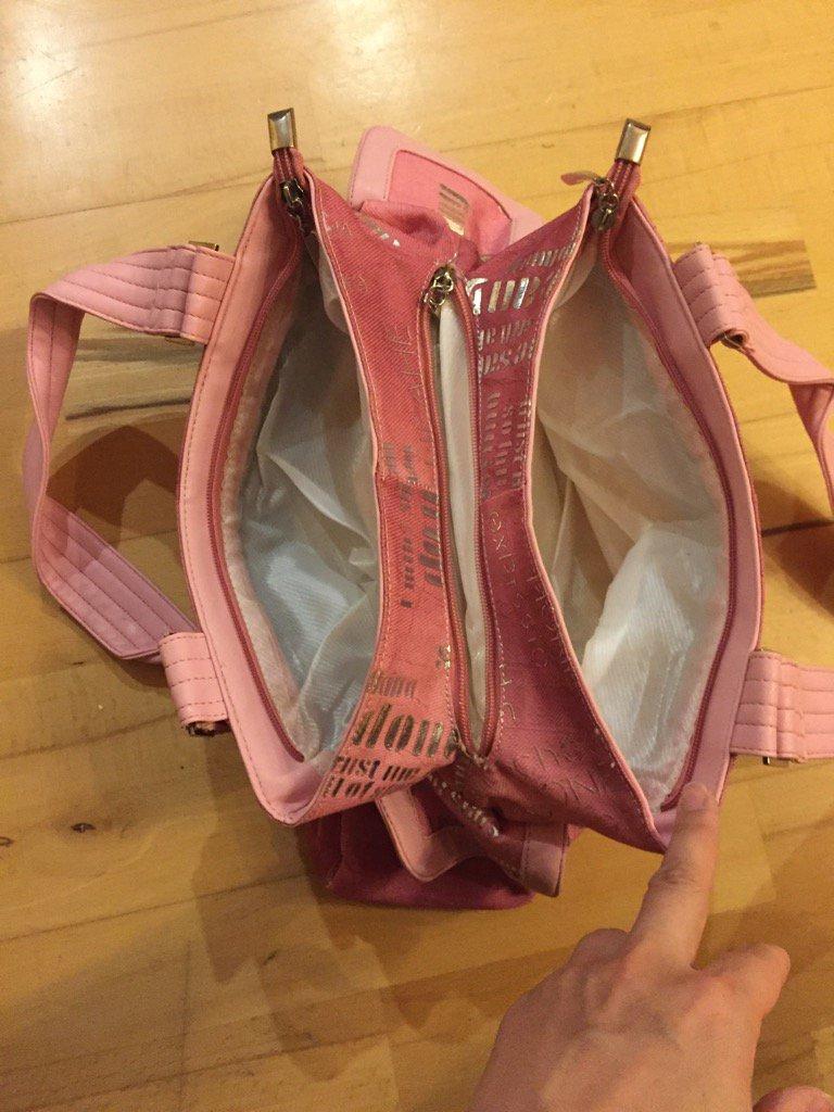 frische Stile Ausverkauf großhandel online Handtasche mit vielen Fächern :: Kleiderkorb.de