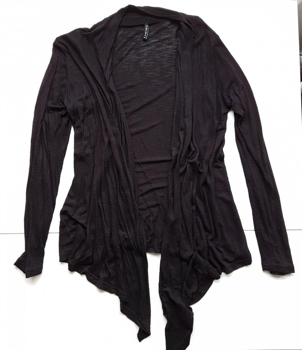 schwarze, dünne Jacke - SEHR GUTER Zustand    Kleiderkorb.de 9c82c4089c