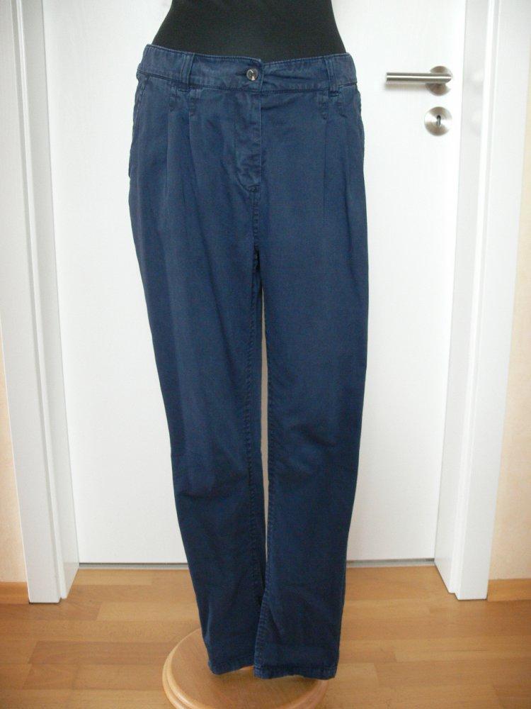 124995fb761f tolle Chino von H M dunkelblau Gr. 36 Boyfriend    Kleiderkorb.de